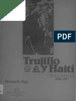 Trujillo y Haití, Vol. 1