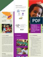 Tríptico Informativo Institucional CCFC 2017