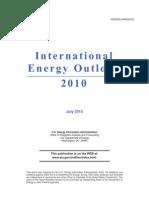 Consumo energético Centro y Sudamerica año 2035