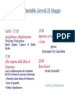 Gio v Timetable