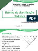 3AULA_2_Sistema de Classificação Cladística