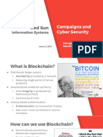 Democracy CyberSecurity & Blockchain Presentation