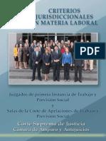 criterios judiciales laborales
