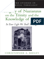 Gregory of Nazianzus on the Trinity and the Knowledge of God.pdf