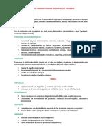 Cargo de Administrador de Empresa y Finanzas 02