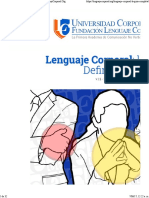 corto manual de Lenguaje Corporal
