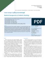 Medical Emergencies in Pediatric Dentistry (1)