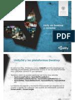 Unity3D 09 Desktop y Consolas