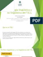Semiología Linguística TEL