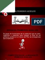 BRIGADA PRIMEROS AUXILIOS