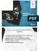 Unity3D 15 Acceso a Componentes