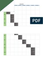 Planeación y Cronograma