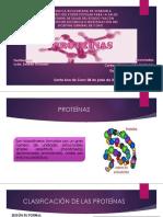 PROTEÍNAS -  bioquimica
