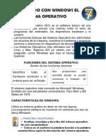 Trabajando Con Windows El Sistema Operativo 4 17 de Mayo
