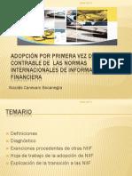 Adopcion Por Primera Vez Del Modelo Contable de Las NIIF