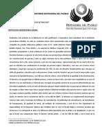 Informe Defensoria Del Pueblo