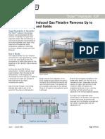 TRIDAIR HYDRAULILC Induced Gas Flotation System