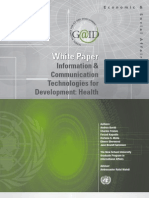 GAID White Paper on ICT4D Health