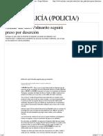 12-06-17 Militar Del Caso Palmarito Seguirá Preso Por Deserción - Grupo Milenio