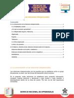 Tema 1. La Comunicación en Las Relaciones Interpersonales
