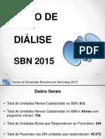 Censo de Diálise 2015