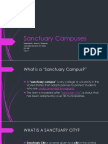 sanctuary campuses weebly