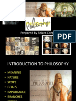 Lecture philosophy