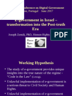 "2017-06-13 Zernik, J. ""E-government in Israel"