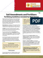 HG42 Soil Amendments and Fertilizers