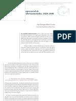 Desarrollo Del Sector Empresarial de Monterrey y Políticas Gubernamentales, 1929-1946