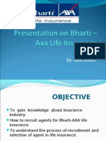 Bharti-Axa Final Ppt