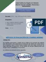 Métodos de Evaluación de Control Interno_semana 09