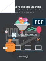 Building a Customer Feedback Machine eBook