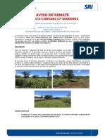 Dirección Zonal 3, Aviso de Remate No.dz3-COBVARC17-00000001 (1)