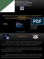 Programa de Capacitacion Para Liideres Basado en Pnl