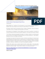 Crean El Parque Nacional Número 44 en La Región Caura
