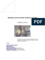 Homenagens Post-Poeticas 2017