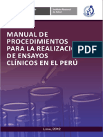 Manual de Proc para la realizacion de ensayos clinicos.pdf