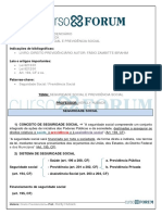 Direito Previdenciário_Prof. Kerlly Huback_Seguridade Social e Previdência Social