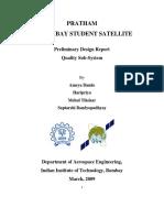 Pratham IITB Student Satellite Preliminary Design Report      Quality Subsystem.pdf
