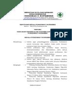 2.3.11.4 Sk Kebijakan Pengendalian Dokumen