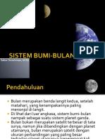 3. Sistem Bumi-bulan