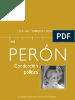 Peron Conduccion Politica