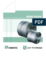 Kondotec Wire Rope Catalog