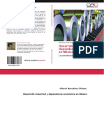 DesarrolloindustrialydependenciaeconomicaenMexico