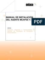 Manual de Instalación Del Agente McAfee v1
