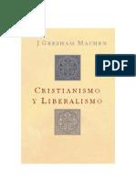 Cristianismo y Liberalismo - J Gresham Machen