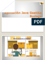 Aplicación Java Gestion Bodega