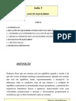 Aula02 - Equilíbrio químico.ppt