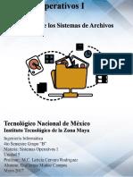 Arquitectura de Los Sistemas de Archivos